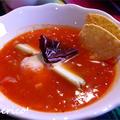 メキシコの定番、トルティーヤスープ~Sopa de Toltilla~
