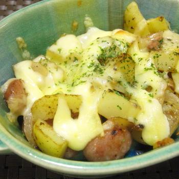 ジャガイモのマヨチーズ焼き