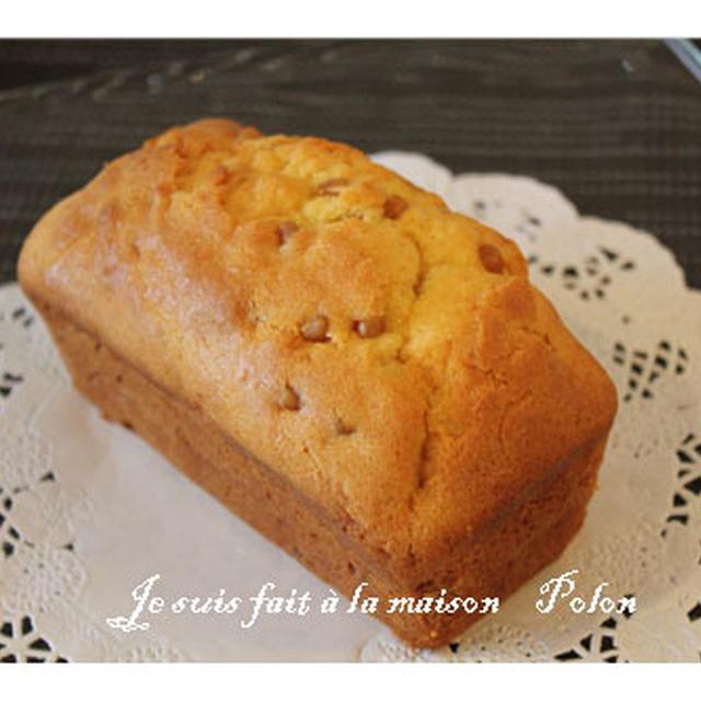 メープル粒ジャムのパウンドケーキ☆