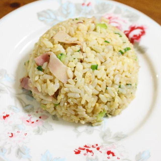 簡単炒飯 レシピ