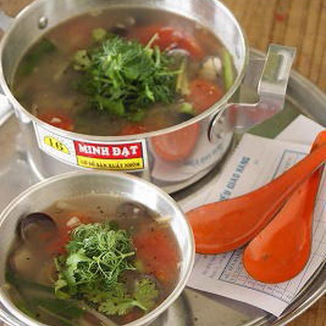 しじみとトマトのスープ*ベトナムStyle☆レシピ