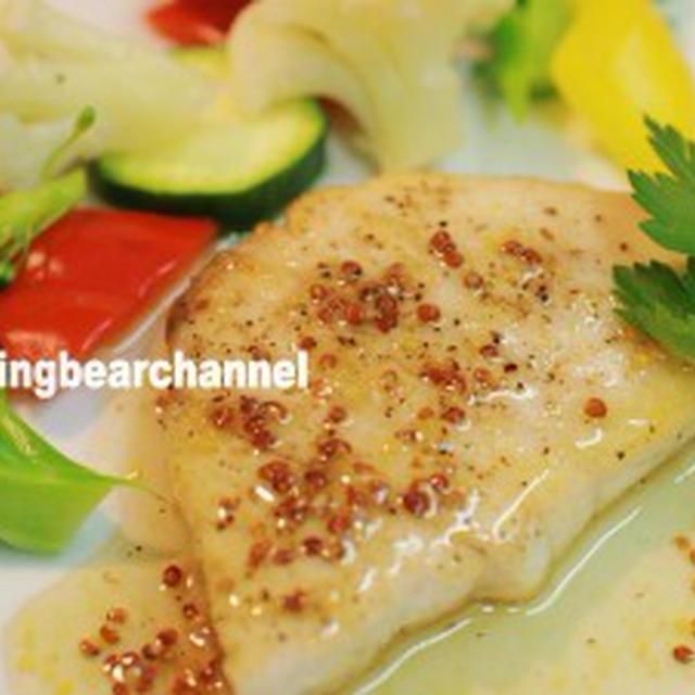 クリスマスはお肉もいいけど魚もね!カジキマグロのソテーハニーマスタードソース(動画)