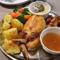 クリスマスディナー2020 ~ 肉詰め骨抜き丸鶏のローストチキン ~
