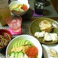 カルロ ロッシ ロックで豪華海鮮丼☆