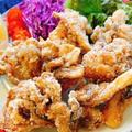 ニンニク醤油で舞茸の唐揚げ(動画レシピ)/Fried Maitake mushrooms.