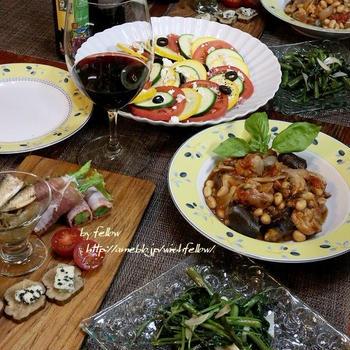 ◆タップリ大豆のラタトゥイユ風でおうちごはん♪~ゆるやか糖質制限中♪