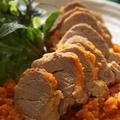 豚ヒレ肉のキャロットジンジャー煮