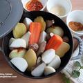 混ぜるだけのつけダレ3種★【レシピ】根菜鍋