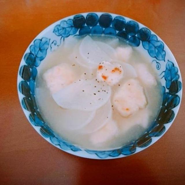 鶏むね肉と大根の中華スープ煮