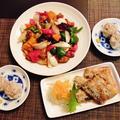 前置きが長い(汗)~秋刀魚の唐揚げ&野菜たっぷり酢豚~