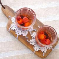 【うちレシピ】冷凍ミックスベリーでフルーツビネガーウォーター / 【参加中】レシピブログの「フルーツビネガーウォーター コンテスト」