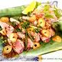 簡単■ カツオのスタミナステーキ ■TVご紹介レシピ