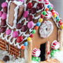 おいしいジンジャーブレッドハウス(お菓子の家)*レシピと型紙付き