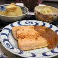 アルプスイワナの生姜バター醤油と副菜おかず