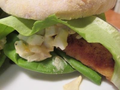 【旨魚料理】ヒラメの特製タルタルマフィン