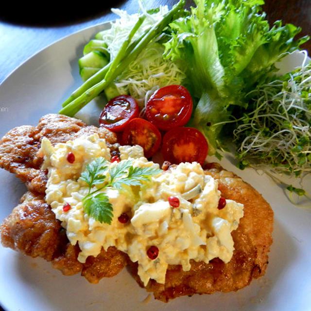 鶏の胸肉でチキン南蛮(お安い胸肉が驚くほどやわらかで豪華に)