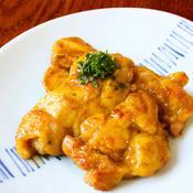 *鶏モモカレー〜鶏モモ肉の照り焼きカレー風味〜*