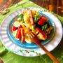 ポテトのかくれんぼ、新シャガのポテトサラダのレシピ。
