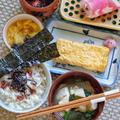 朝に優しい味を食べると気持ちが落ち着きました〜玉子焼きの和朝食〜