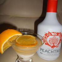 ピーチ&オレンジのデザートスクリュードライバー♪