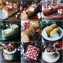 クリスマスにおすすめなレシピその④ブッシュドノエルやケーキ色々❤️