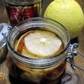 レモンの自家製フルーツブランデー