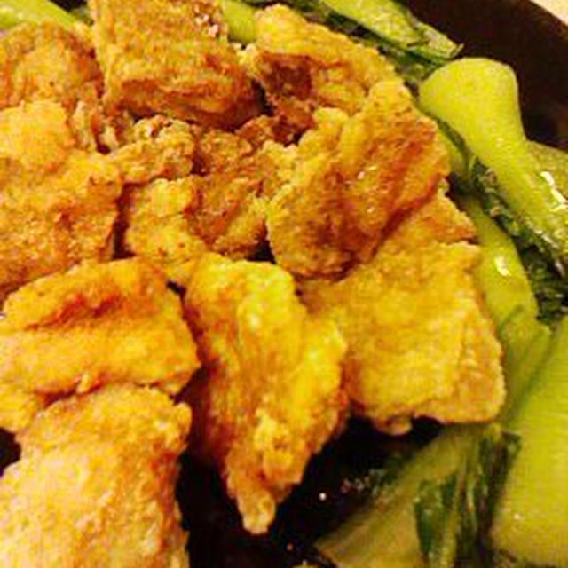 ●鶏から揚げ甘酢仕上げと梅びしおの作り方