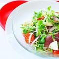 【レシピ動画あり】ブリとモッツアレラチーズのオリーブオイルサラダ蕎麦の作り方 by 和田 良美さん
