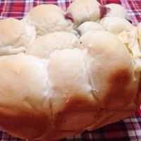 朝専用マスク「サボリーノ」 しながら… 何が出るかな?パンの朝食