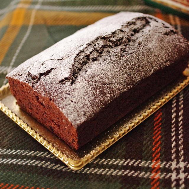 クリスマスの超簡単チョコレートケーキ☆パウンド
