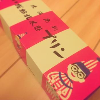 大阪土産。aikoも食べたプリン♡