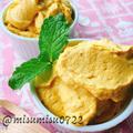 南瓜と水切りヨーグルトの簡単クリーム