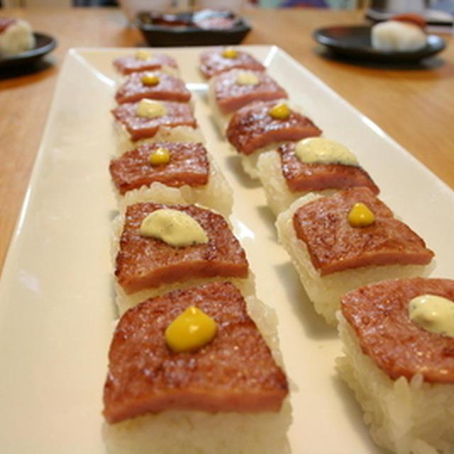 ボロニアソーセージのお寿司