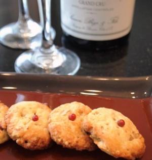 ピリッとクルミチーズクッキー