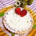 チョコチーズタルト✳︎結婚記念日なのに、なぜか娘のリクエストケーキ(*´ω`)ゝ