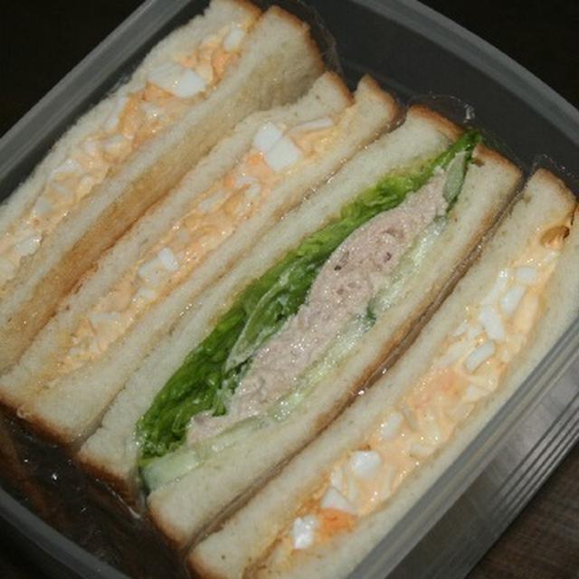 9月22日  ツナ野菜&マヨ玉の ホットサンド