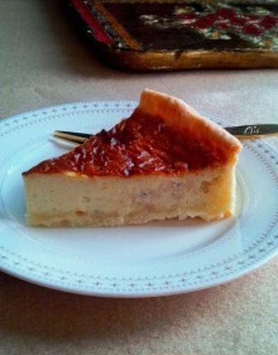 ゴルゴンゾーラとクルミのチーズケーキ