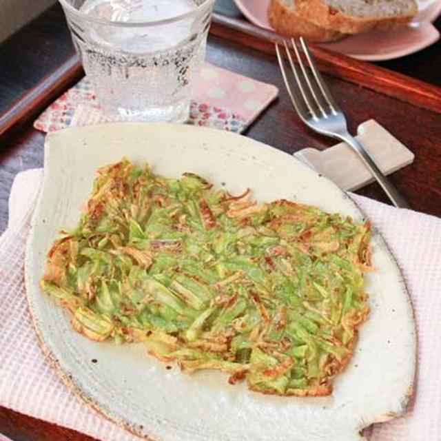 ブロッコリーの茎レシピ/手作りレース髪留めゴム