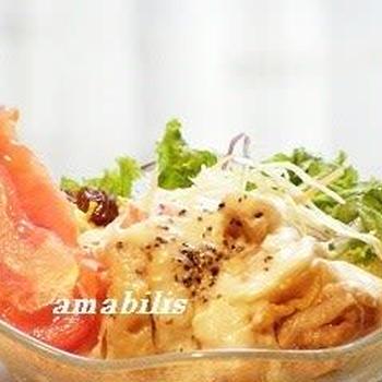 チキンと野菜のサラダ