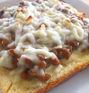 【納豆トースト】激ウマのポイントは・・・あの調味料