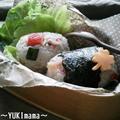 レタスと蟹かまのマヨワインサラダおにぎり
