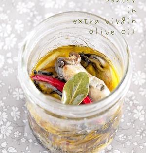 《レシピ》シンプルな牡蠣のオイル漬け