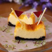 ホットケーキミックスで超手軽&簡単チーズケーキ(ベイクドタイプ)