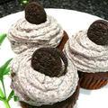 オレオカップケーキ Oreo Cupcakes by latte to teaさん