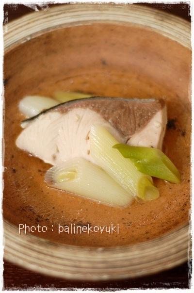 旬のブリ料理レンジで簡単!ブリのあっさり煮