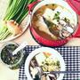 たらとあさりのニラだれおかずスープ ~ Nadia旬のレシピ掲載