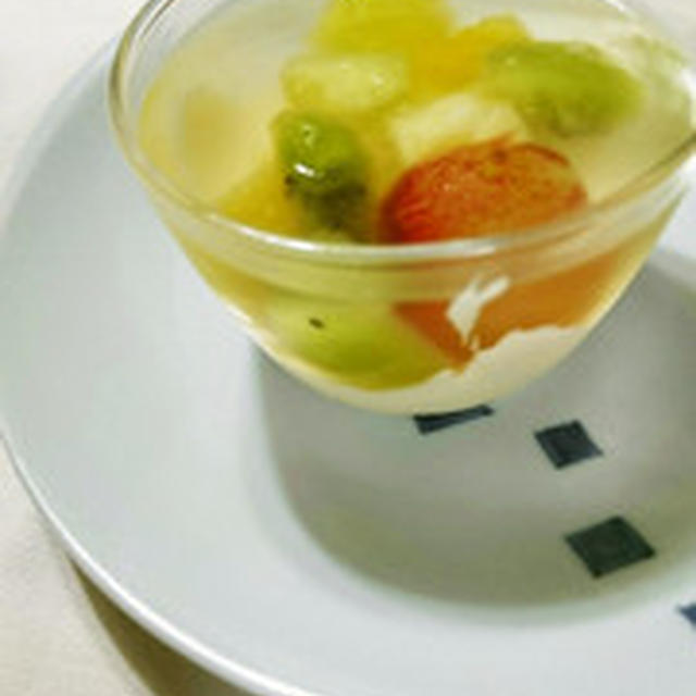 美味しいフルーツの完成です。