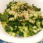 大根葉の基本のだし炒め♡ 使い切りレシピ