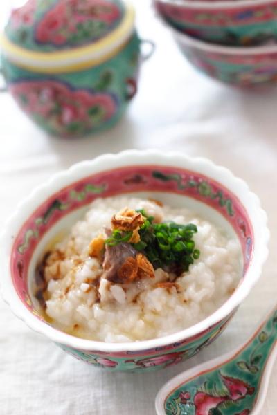 肉骨茶(バクテー)風おかゆ