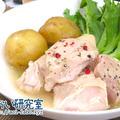 料理日記 161 / 低温調理で作る鶏むね肉の白ワイン煮込み
